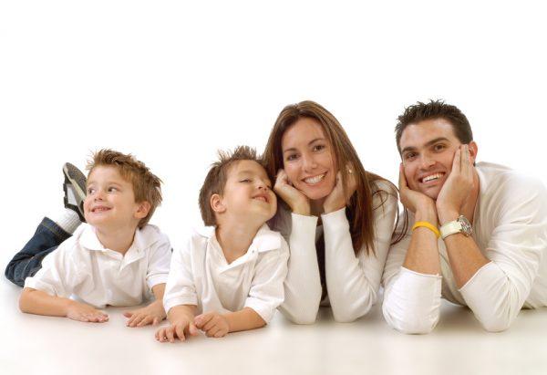 Absicherung der Familie